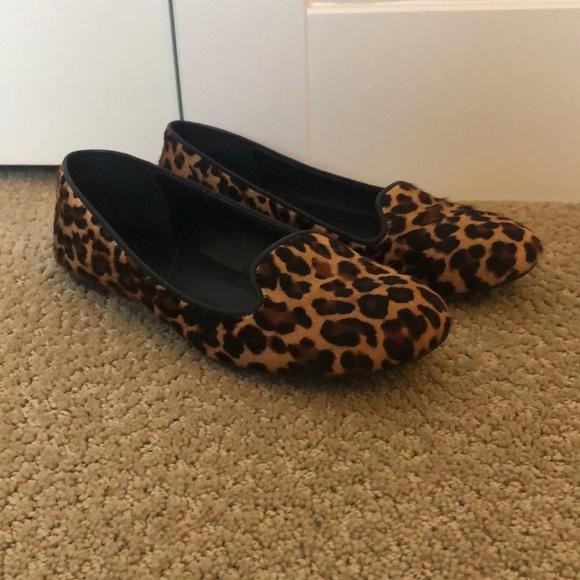 Cole Haan Shoes   Leopard Print Flats